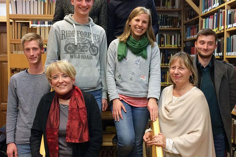 Das Projektteam um Ursula Gärtner (vorne links). Fotos: Uni Graz/GRaF
