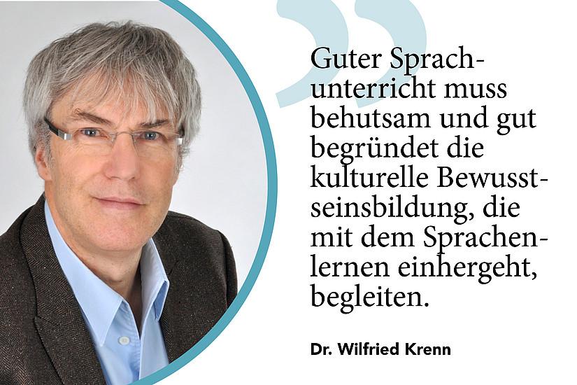Statement und Portait Dr. Krenn, DAF DAZ bei UNI for LIFE