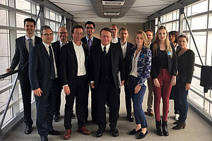 Exkursion, Brüssel, Paul Rübig, DissertantInnen, Doctoral Academy, SOWI, REWI