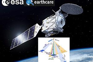 Der EarthCARE-Satellit der ESA soll ab 2022 das Zusammenspiel von Wolken, Schwebeteilchen und Strahlung mit bisher unerreichter Genauigkeit weltweit messen. Bild: ESA-BAMS 2015