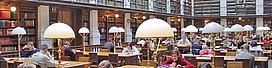 Hauptbibliothek: Lesesäle