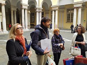 Das Projektteam in Genua
