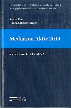 Buchcover: Mediation aktiv 2014
