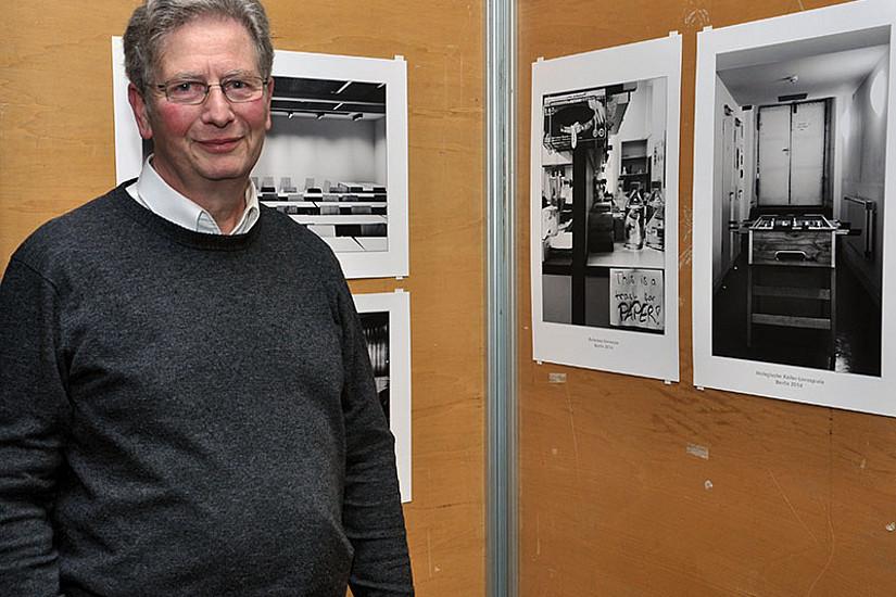 Jürgen van Buer eröffnet mit seiner Fotoausstellung eine künstlerische Perspektive auf universitäre Lernräume.