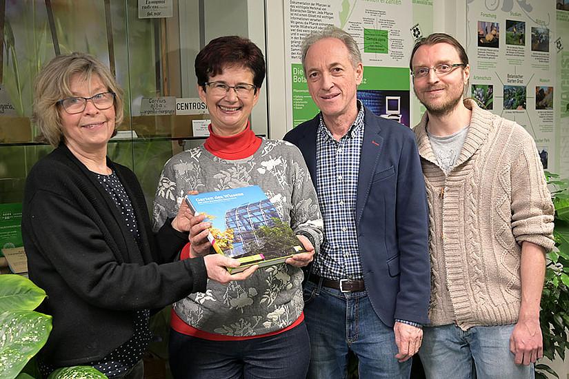 Ursula Brosch, Sigrid Zauner, Franz Stangl, Markus Schicker (v.l.)