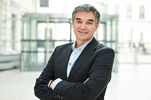 Der neue Forschungs-Vizerektor der Uni Graz, Joachim Reidl (Foto: Uni Graz/Tzivanopoulos)