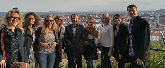 Stadtführung für die ProjektpartnerInnen. Foto: Verena Gschweitl