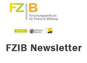 Logo FZIB und Schrift Newsletter