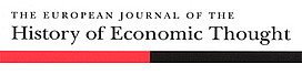 The European Journal of the History of Economic Thought
