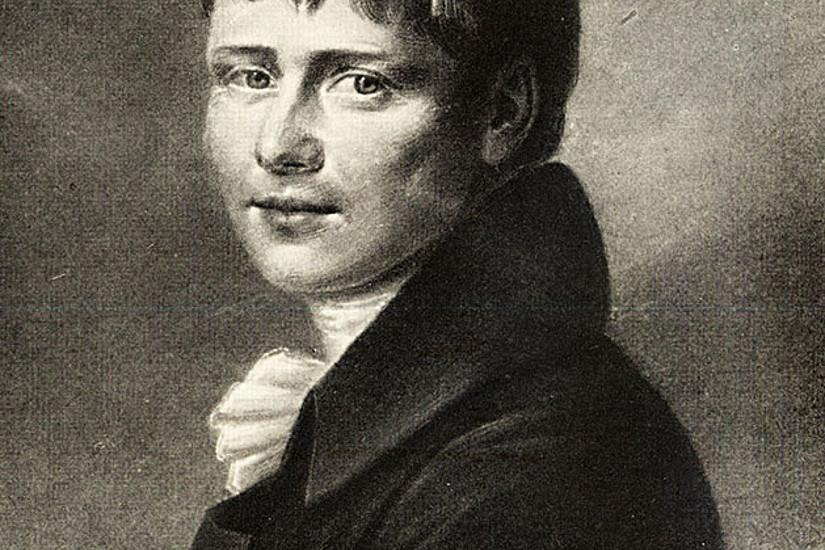 Heinrich von Kleist (1777-1811) kannte Konflikte nur zu gut: Sein Leben verlief alles andere als glücklich und endete im Doppelselbstmord. Foto: wikimedia commons.