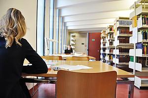 Der perfekte Lernplatz ist nicht so einfach zu finden, die Uni Graz bietet da einige Möglichkeiten. Fotos: Uni Graz/Stingeder