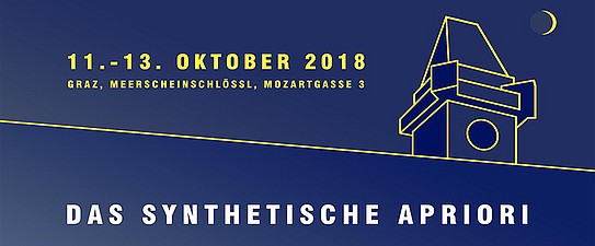 "Doktoranden-Workshop ""Das synthetische Apriori"" in Oktober 2018"