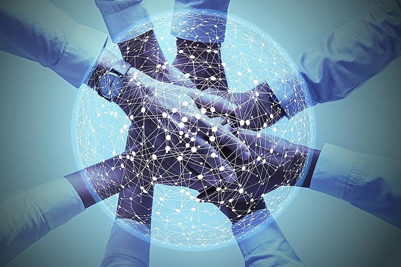In den Erasmus+-Bildungsprojekten ist grenzüberschreitende Teamarbeit gefragt. Foto: geralt/pixaybay.com