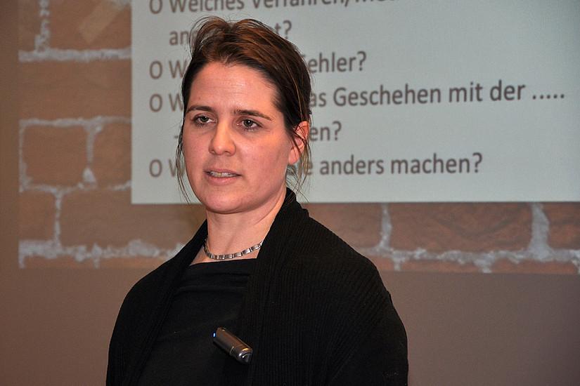 Keynote Sandra Schön referierte über die aktuellen Möglichkeiten bei der Gestaltung von selbst gemachten Lehr- und Lernvideos.