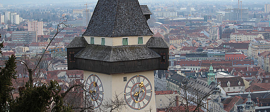 Blickfang, Uhrturm
