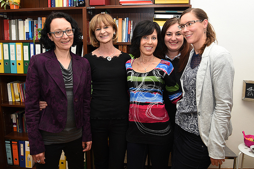 Uni Graz, AKGL, Gleichbehandlung, AKGL-Büro: Ulrike Schustaczek, Maria Aigner, Irene Fritz, Bianca Gollmann, Christa Mandl