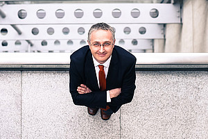 Die Montagsakademie startet mit einem Vortrag von UNESCO-Professor Gerd Oberleitner über Menschenrechte als Herausforderung im Alltag. Foto: Uni Graz/Tzivanopoulos