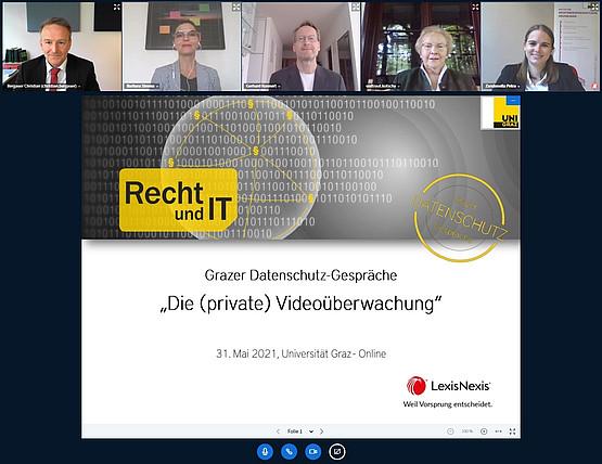 Christian Bergauer, Barbara Simma, Gerhard Kunnert, Waltraut Kotschy, Petra Zandonella. Foto: CB