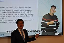 Univ.-Prof. Mag. Dr. Paul Schweinzer & Dr. Chen