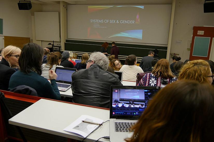 Lecture; Picture Credit: Kulturverein Kunstkessel