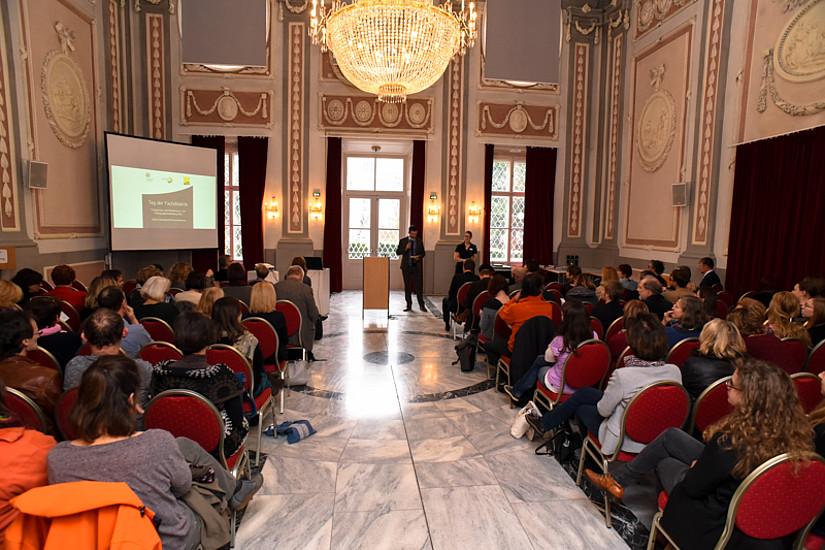 Die Uni Graz und ihre KooperationspartnerInnen luden zum dritten Tag der Fachdidaktik. Foto: Uni Graz/Tzivanopoulos