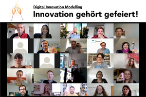 Digital Innovation Modelling - Abschlussevent - UNI for LIFE