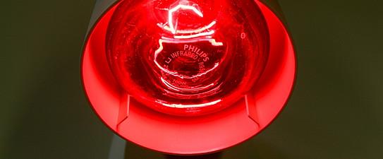 Fotoarchiv OLG, Infrarot, Infrarot-Lampe, Makro, Physiklabor, Vernstaltung, Wärmelampe, Zubehör Physiklabor