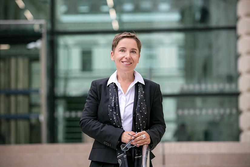 Petra Schaper-Rinkel leitet das Vizerektorat für Digitalisierung. Foto: Uni Graz/Eisenberger