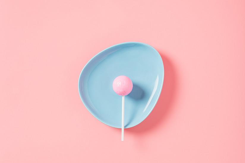 Lollipop am Teller