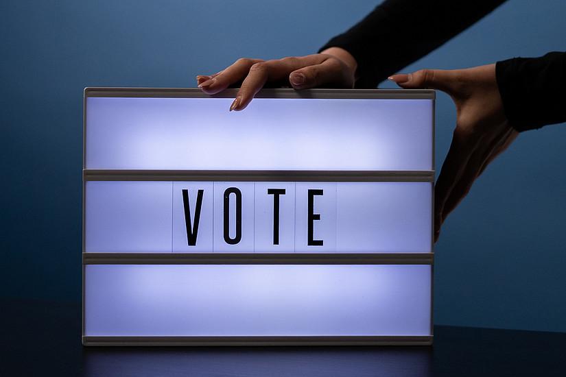 Studierende sind wieder aufgerufen ihre VertreterInnen zu wählen. Foto: Pexels.com