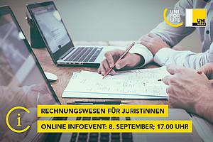 Online Infoevent Rechnungswesen für JuristInnen UNI for LIFE