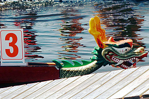 Drachenbootregatta am 10. Juli: Das Konfuzius-Institut lädt Studierende und Uni-MitarbeiterInnen zum Mitpaddeln ein. Foto: Licht aus - Pixabay