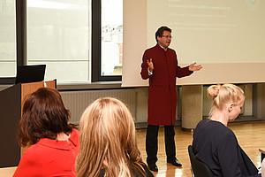 Vizerektor Polaschek eröffnete den Workshop. Fotos: Uni Graz/Tzivanopoulos