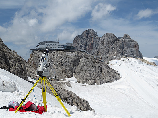 TLS RIEGL LMSZ-620 device; usage jointly with the NAWI Graz consortium