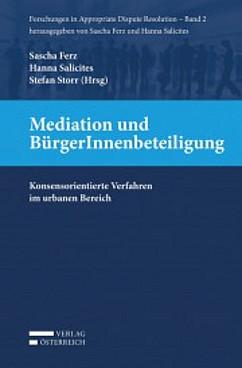 Buchcover: Mediation und BürgerInnenbeteiligung