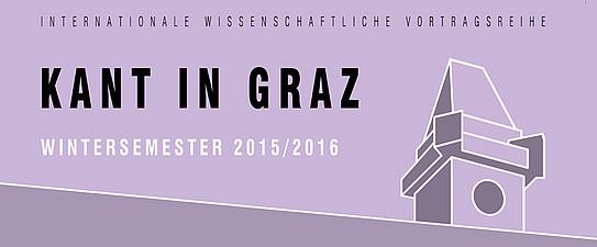 Vortragsreihe im Wintersemester 2015/16