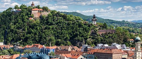 Schlossberg, Graz Tourismus - Harry Schiffer