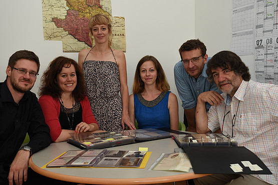 Uni Graz, Projekt Slawistik, Heinrich Pfandl, Postcarding Nations