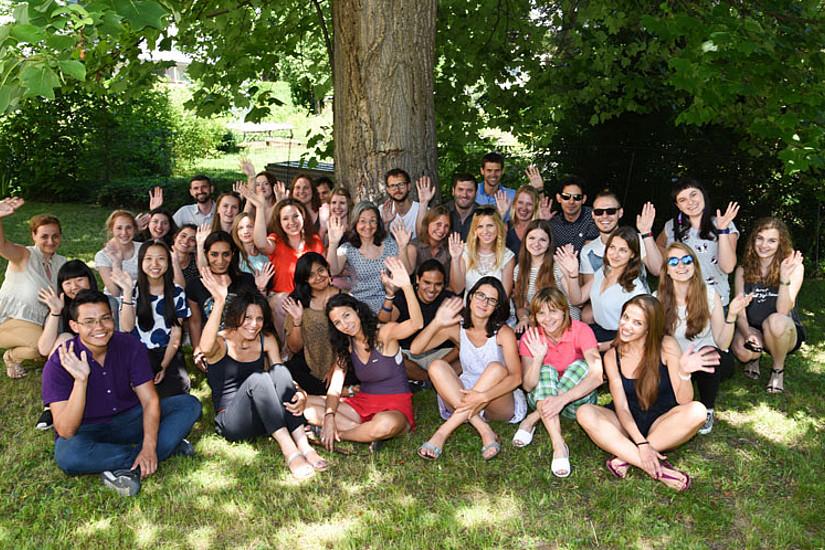Der Sommerkurs Sprache-Kultur-Literatur ist ein Highlight im Unisommer. Im vergangenen Jahr feierte er zehn Jahre. Foto: Uni Graz/Tzivanopoulos