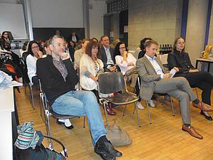 Publikum beim Rollenspiel im Resowi - Foto: Ursula Pichler