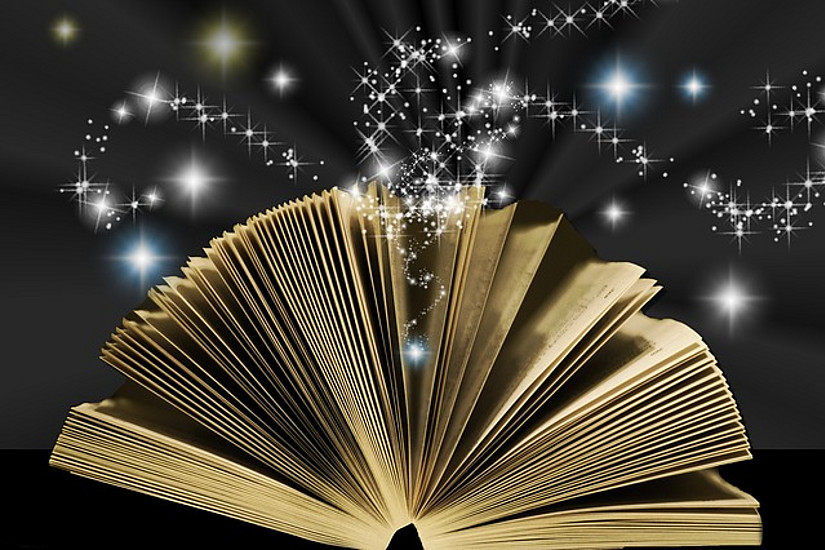 Viele Wörter und Redewendungen der deutschen Sprache haben ihren Ursprung in magischen Praktiken. Foto: pixabay