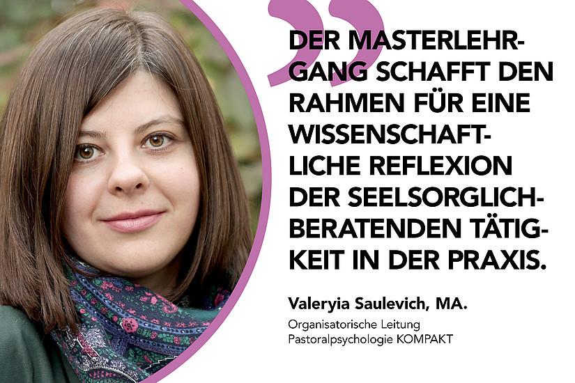 Statement Saulevich Pastoralpsychologie UNI for LIFE