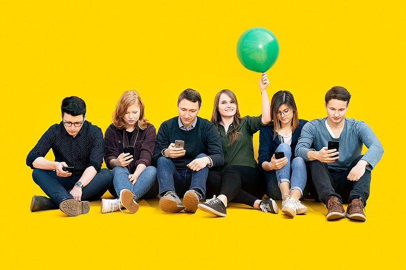 Wer willst du morgen sein? Studieren an der Universität Graz bedeutet auch, aktiv die Zukunft mitzugestalten. Foto: Uni Graz/Kanizaj