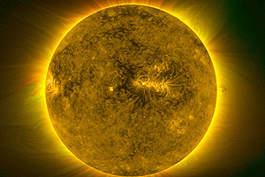 Radiant riddle: Scientists have found out why the corona is hotter than the solar surface.
