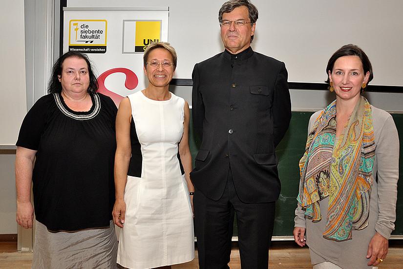 Film-Premiere und Podiumsdiskussion: Anita Lackenberger, Anita Prettenthaler-Ziegerhofer, Herwig Hösele und Barbara Stelzl-Marx (v.l.)