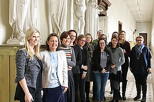 Die TeilnehmerInnen der Partnerländer Kroatien, Slowenien und die GastgeberInnen Österreich am Institut für Kunstgeschichte der Uni Graz. Fotos: Eva Klein.