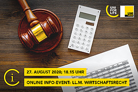 Online Infoabend LL.M. Wirtschaftsrecht UNI for LIFE