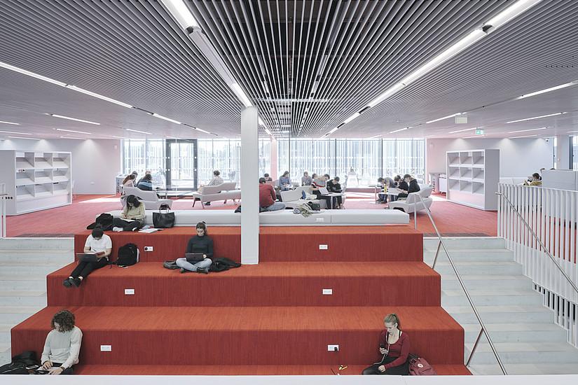 Für die Benutzung der Lern- und Lesesäle in allen Einrichtungen der UB Graz ist ab 2. August 2021 ein 3G-Nachweis verpflichtend. Foto: Uni Graz/David Schreyer