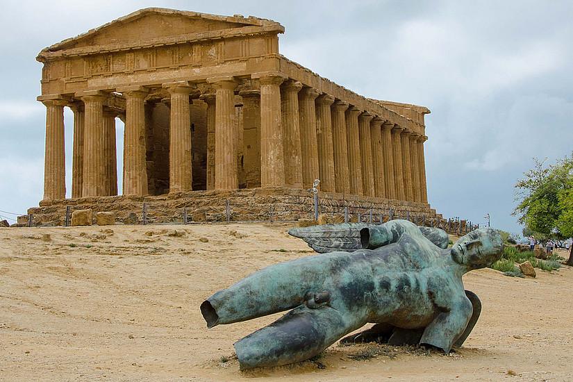 Archäologische Stätten, wie hier in der Region Sizilien, werden auch mit digitalen Methoden erforscht. Foto: Pixabay.com