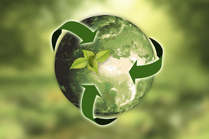Ressourcen möglichst effizient und so lang wie möglich nutzen sowie Abfall minimieren, ist das Ziel der Kreislaufwirtschaft. Wissen dazu vermittelt das International Master's Programme on Circular Economy (CIRCLE). Foto: pixabay